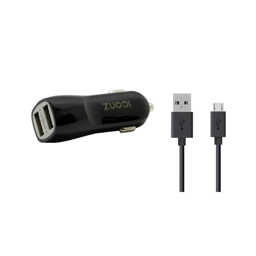 Car Charger with Android cable