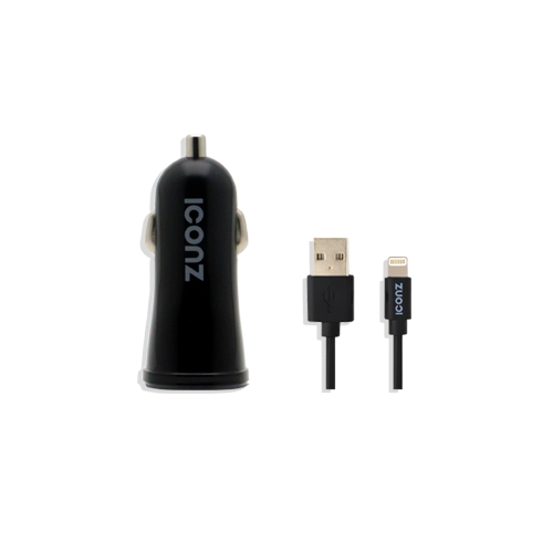 ICONZ Car Charger with IOS cable